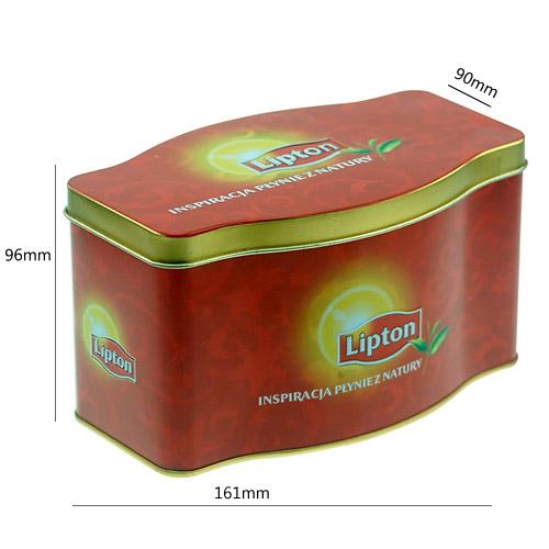 立顿茶叶罐 茶叶包装盒 马口铁盒 铁罐定制 NC2623