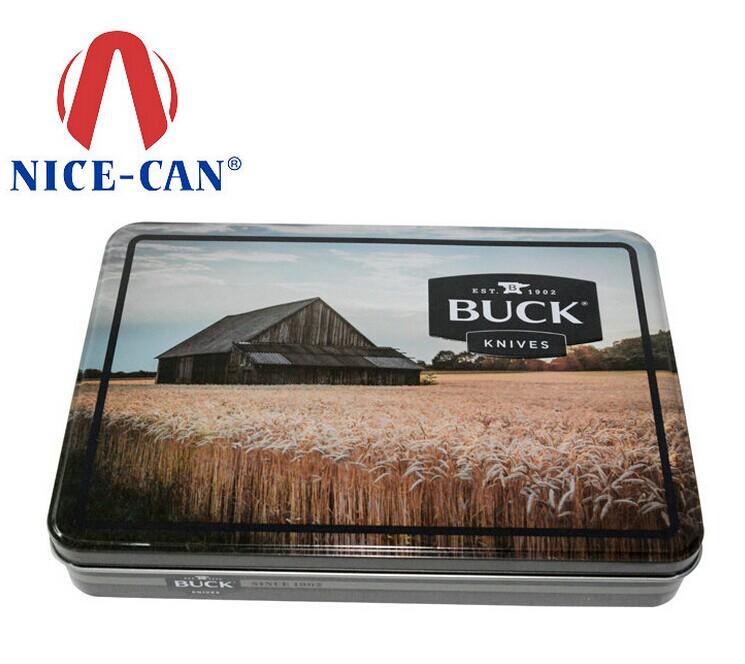 BUCK刀具马口铁包装盒生产-博新铁盒制造厂家