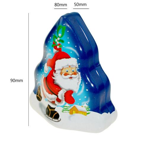 圣诞节礼品盒 糖果盒 马口铁罐 铁盒定制 NC2758