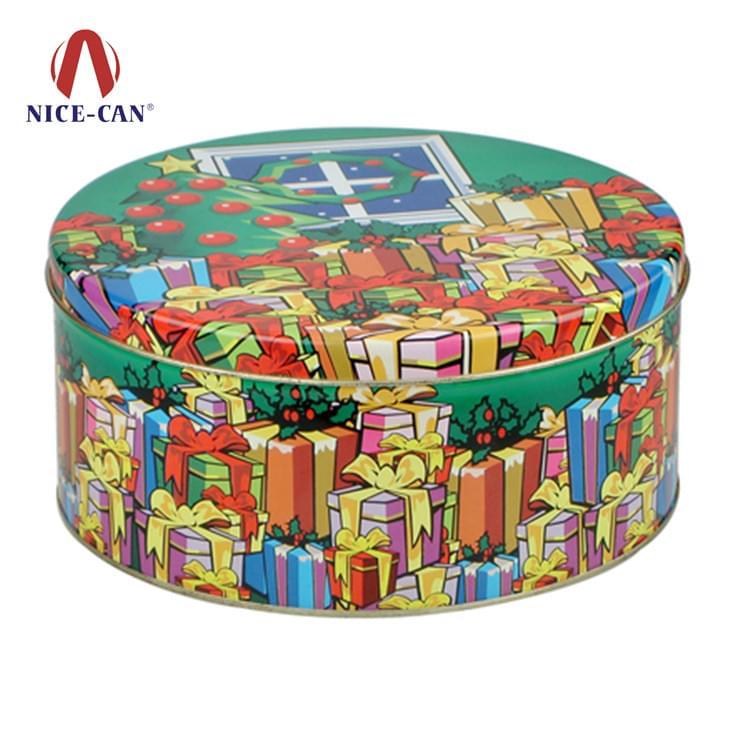 圆形马口铁罐定制|糖果饼干盒 NC2267L