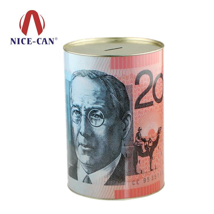 马口铁储钱罐 NC2102