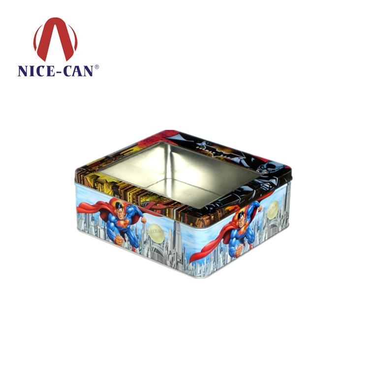可以根据客户的设计图稿定做属于客户专属的铁罐包装