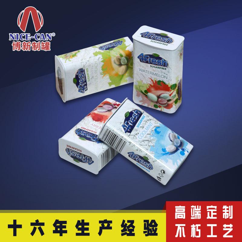 口香糖铁盒包装|含片糖果铁盒   NC3121A