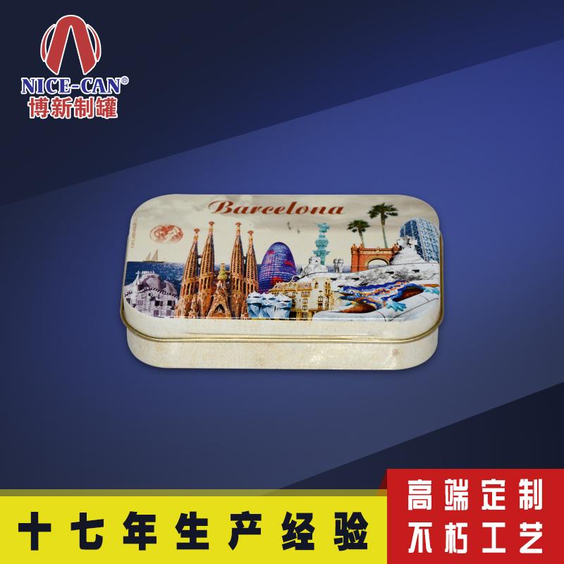 马口铁烟盒|马口铁眼影盒|化妆品铁盒|方形铁盒 NC2025-007