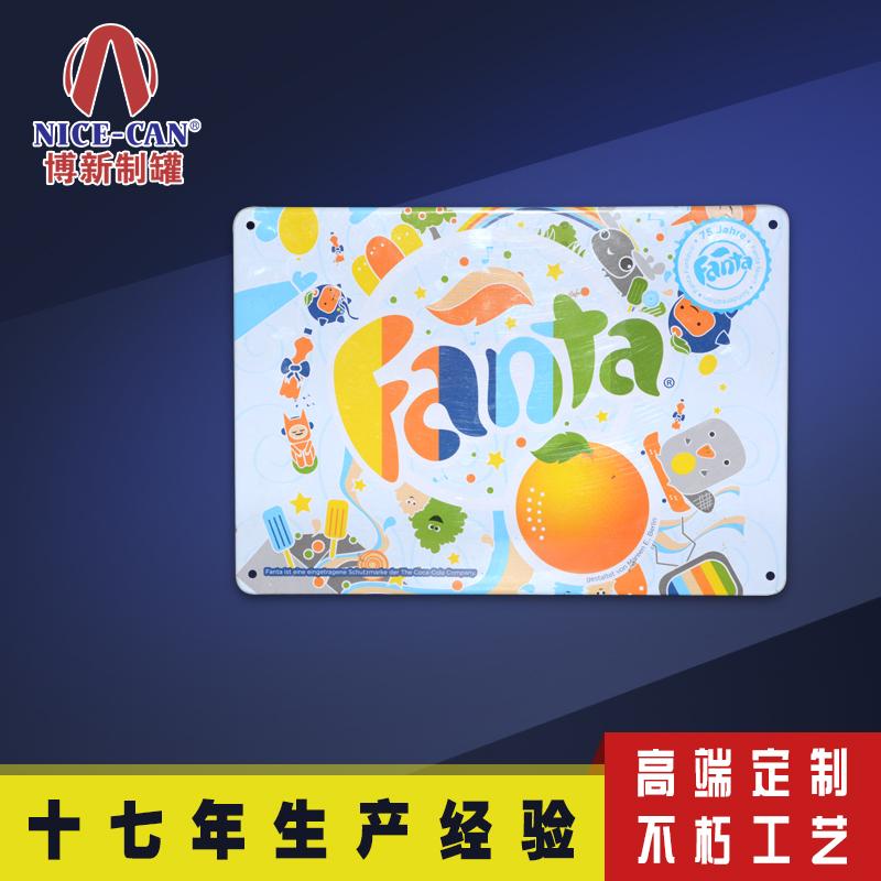 马口铁广告牌|长方形金属广告牌定制 NC3099