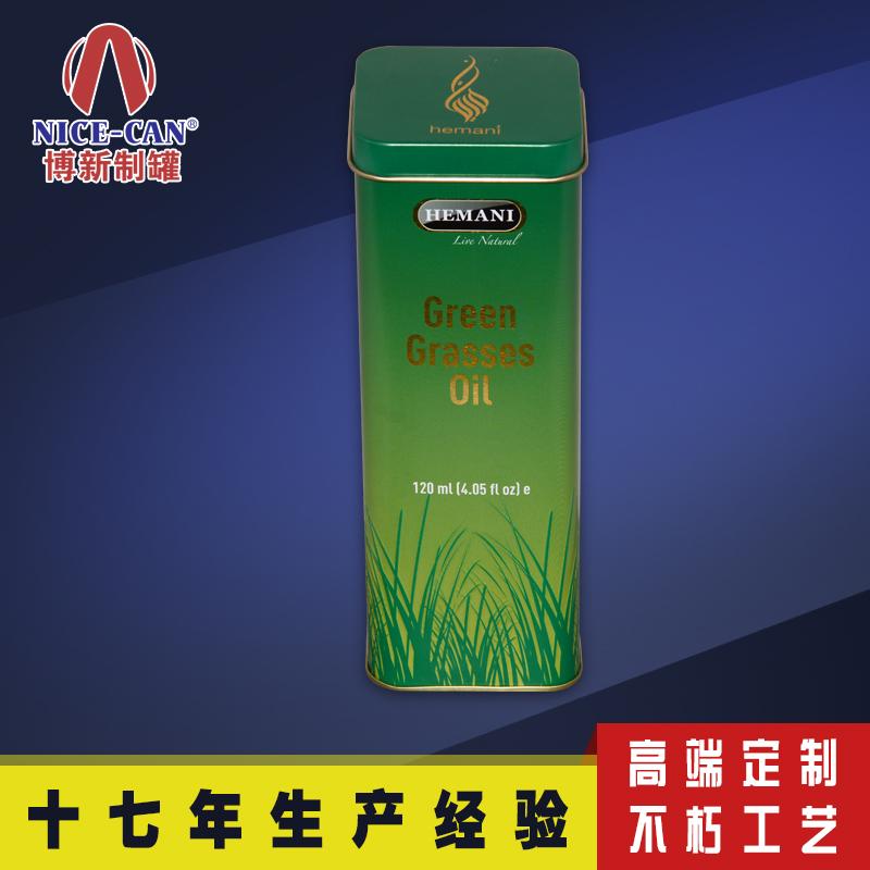 方形马口铁罐|金属酒盒|铁皮食品包装盒定制 NC2871B-001