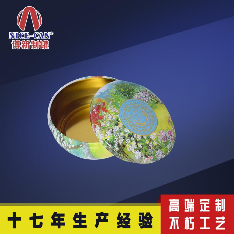 圆形糖果铁盒|高档礼品包装铁盒|定制金属盒子 NC2827-031