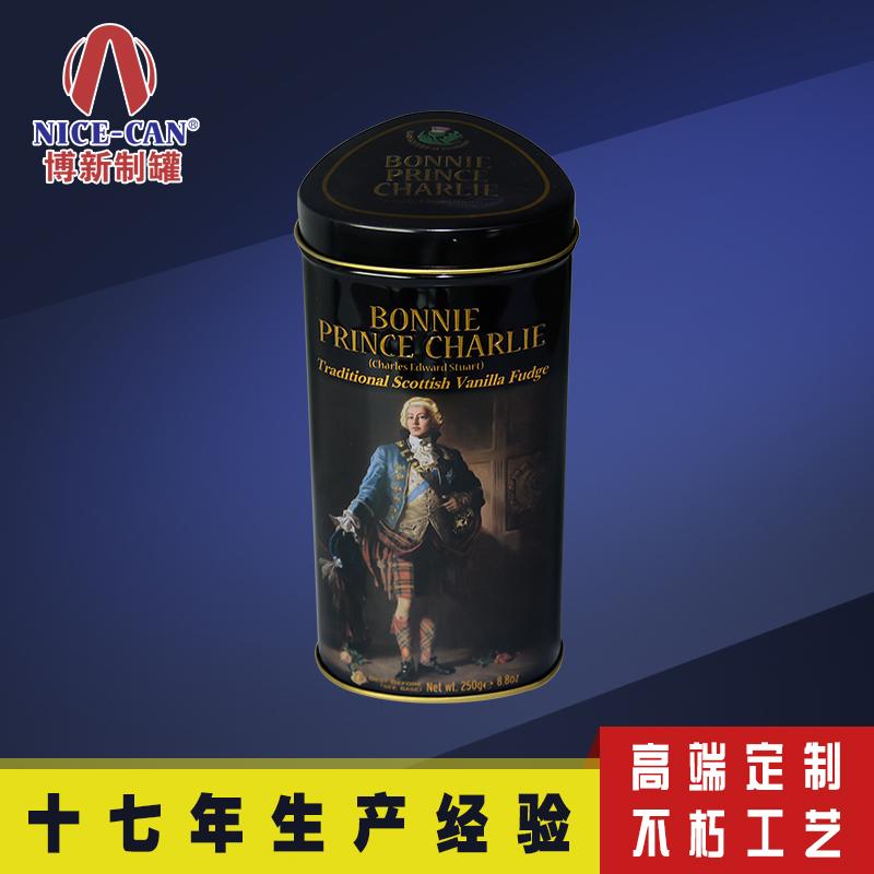 三角柱铁罐 巧克力铁罐 食品铁罐包装 NC2645-014