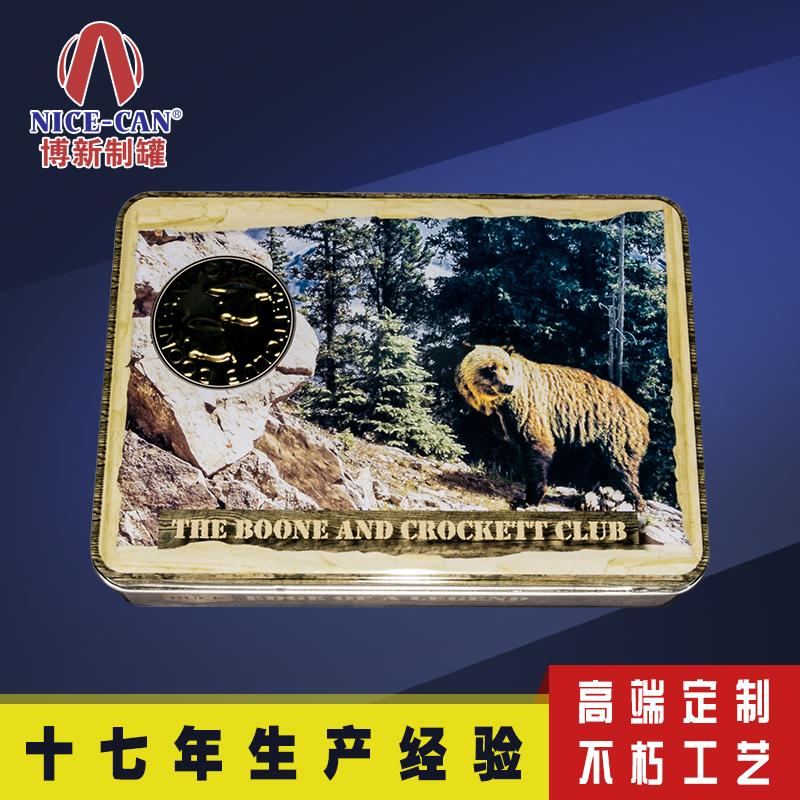 金属饼干盒|方形马口铁盒包装|月饼铁盒包装定制 NC2403H-039