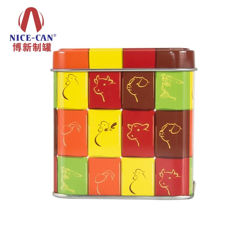 卡通马口铁盒|玩具包装铁盒|糖果铁罐 NC2490A-003