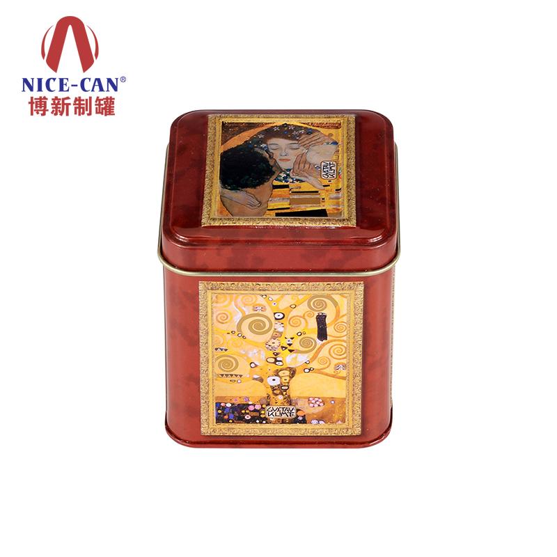 保健品铁盒 礼品包装铁盒 正方形铁盒 铁盒定做 NC2520-020
