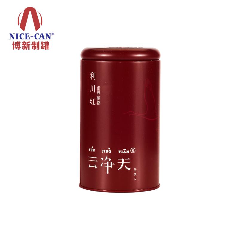 圆形铁罐|茶叶铁盒包装|马口铁茶叶铁罐 NC2849B-020