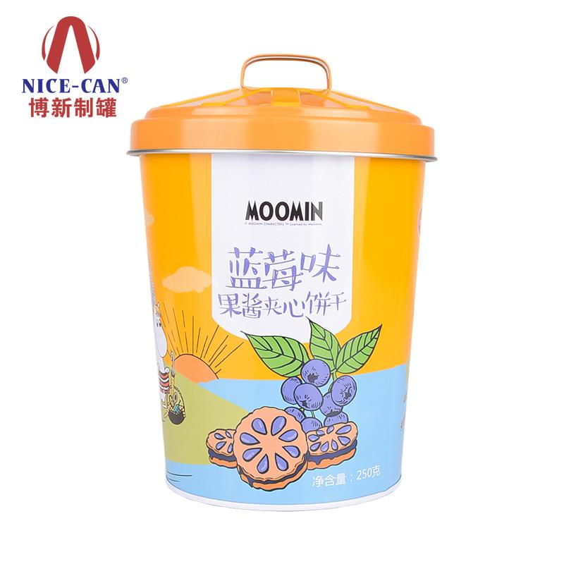 马口铁饼干桶|金属食品盒|春节礼品罐 90031300-003