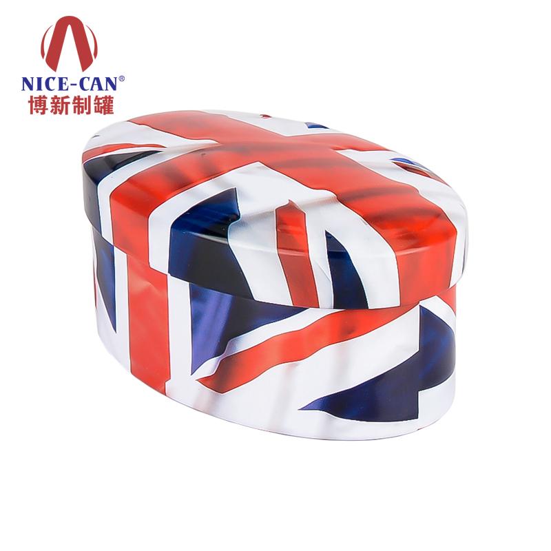 椭圆形铁盒 糖果包装铁盒 巧克力铁盒包装 NC3072-010