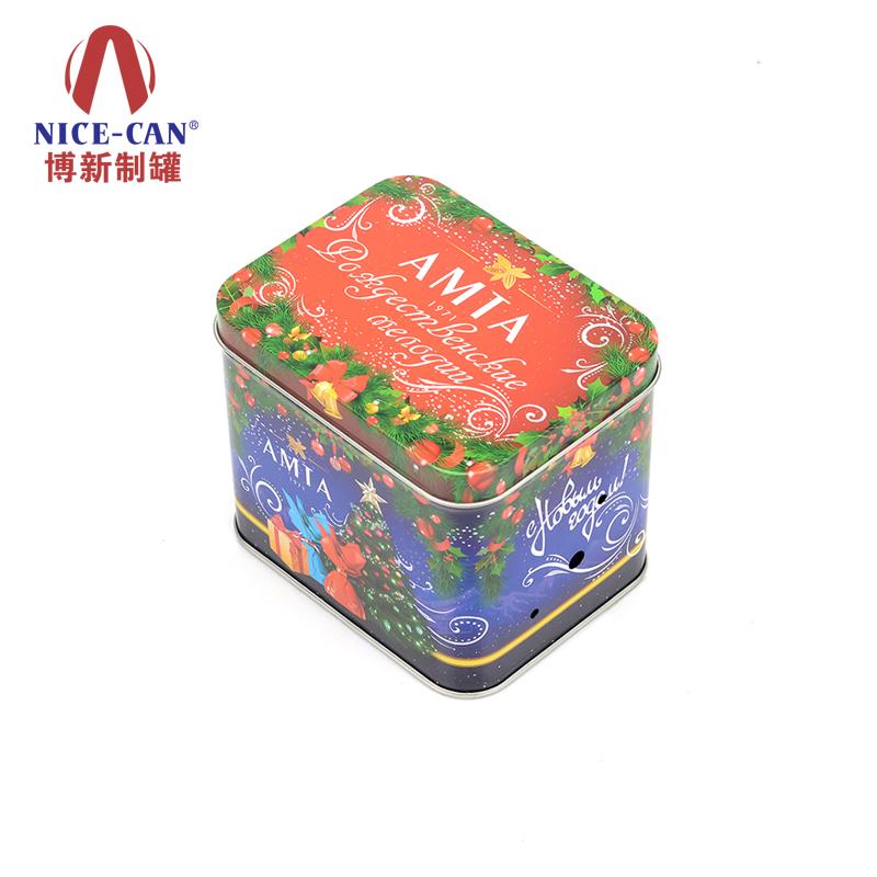 圣诞糖果铁盒|圣诞包装铁盒|圣诞马口铁盒 NC2670