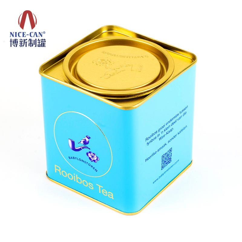 方形茶叶罐|储物罐|收纳铁罐 NC2341-007