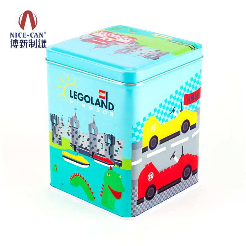 坚果铁盒|食品铁盒包装|收纳存储铁盒 NC2535C-002