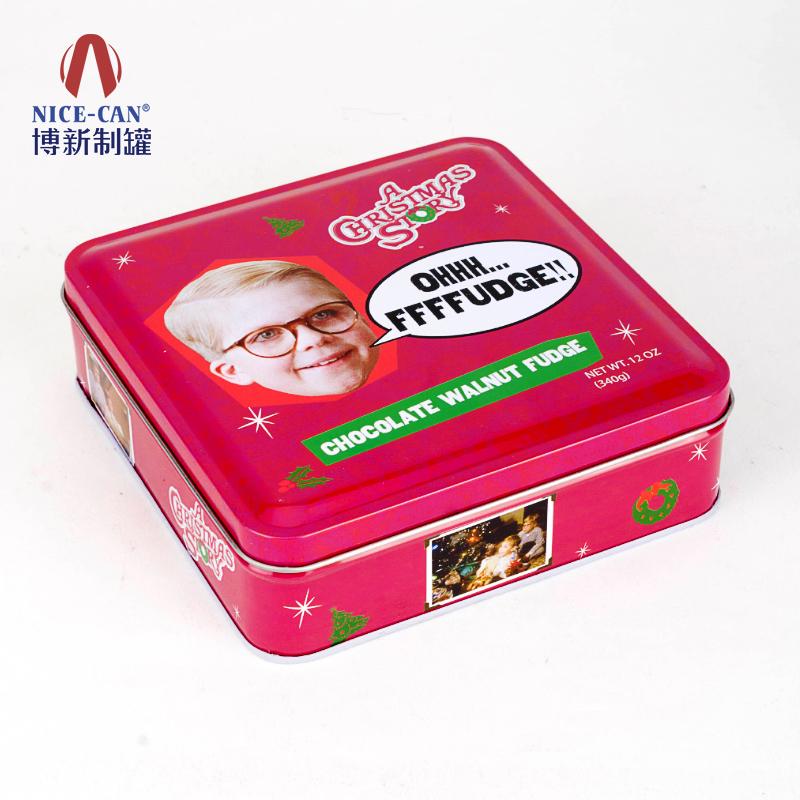 月饼铁盒|方形铁盒|饼干马口铁盒 NC2494-135