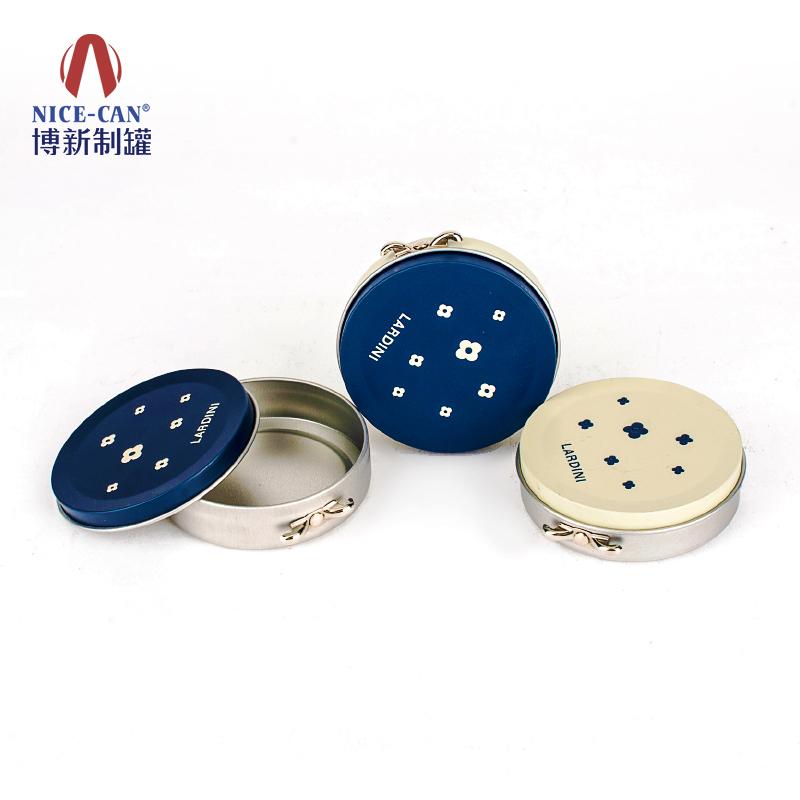 化妆品铁盒|面膜铁盒|圆形铁盒 NC2787