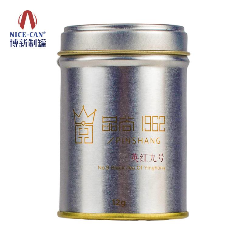 茶叶铁罐|清远茶叶铁罐|圆形铁罐|马口铁茶叶罐 NC3290-004