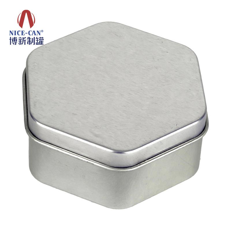 曲奇饼干铁盒 礼品月饼铁盒 六角形铁盒 铁月饼盒 NC3296-H35