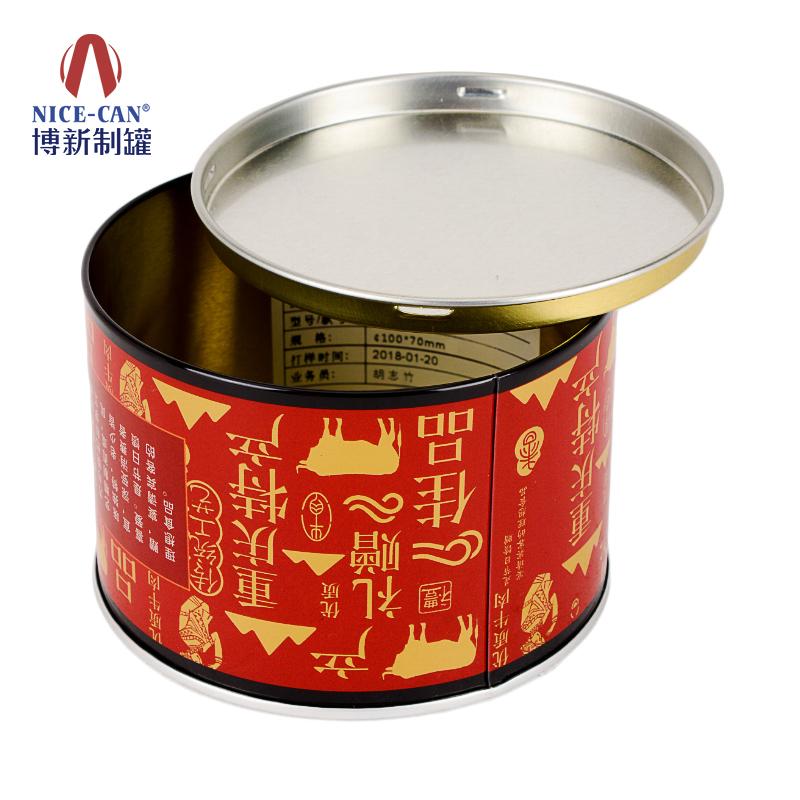 牛肉铁罐|食品铁罐|马口铁听|圆形铁罐 NC3291CQ