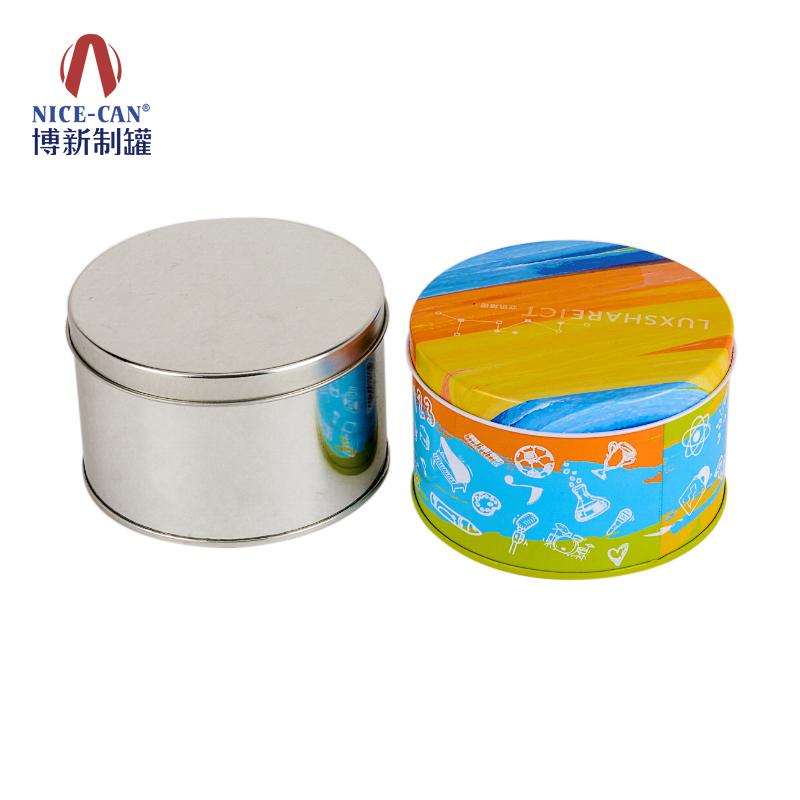 糖果铁罐定制 零件铁盒 圆形铁盒 食品铁盒包装 NC2493