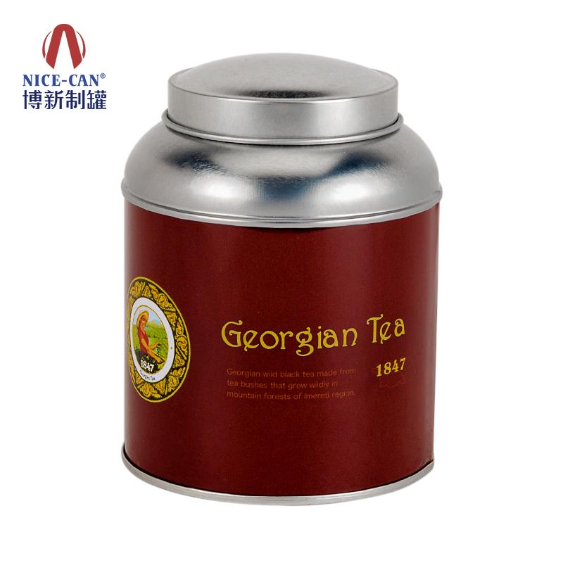 双盖茶叶铁罐|茶叶铁罐包装|茶叶罐制作|茶叶铁听 NC2933-052