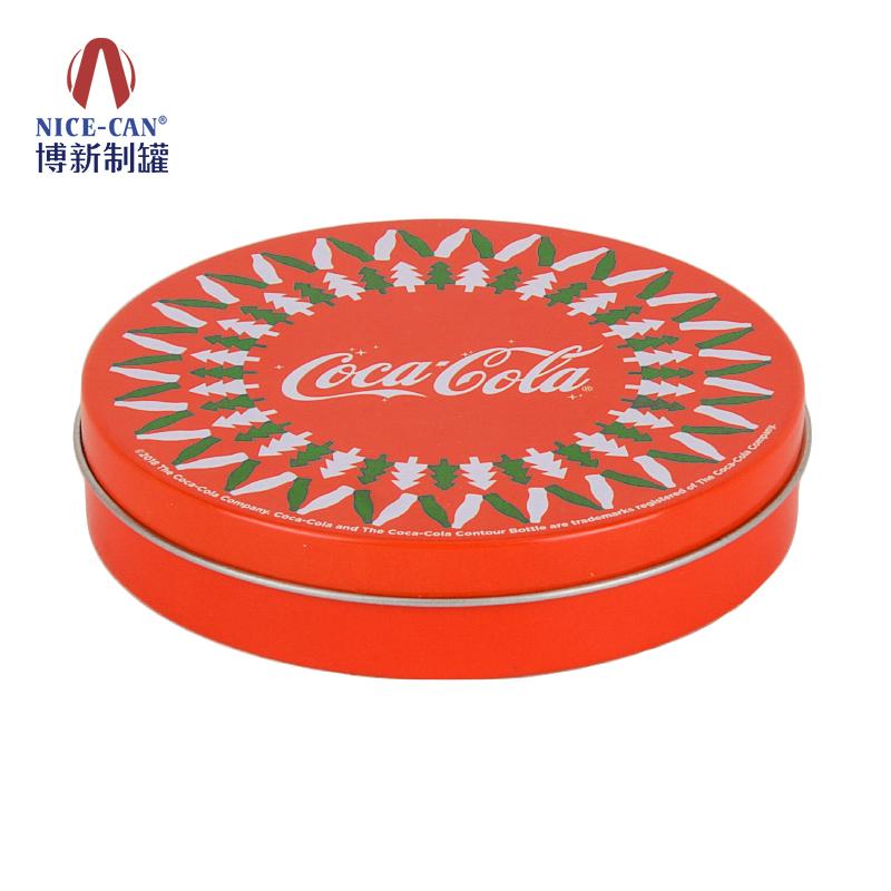 金属杯垫|马口铁软木杯垫|可口可乐杯垫|圆形杯垫 NC2761-002杯垫带水松