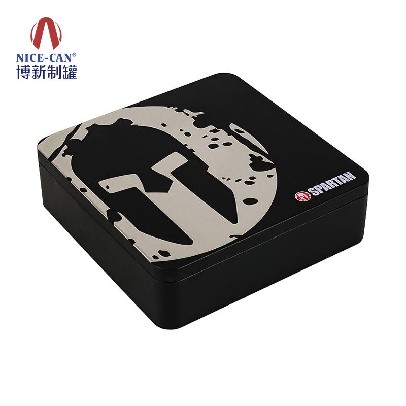 通用食品铁盒|饼干铁盒包装|天地盖包装铁盒|正方形铁盒 NC3174-018