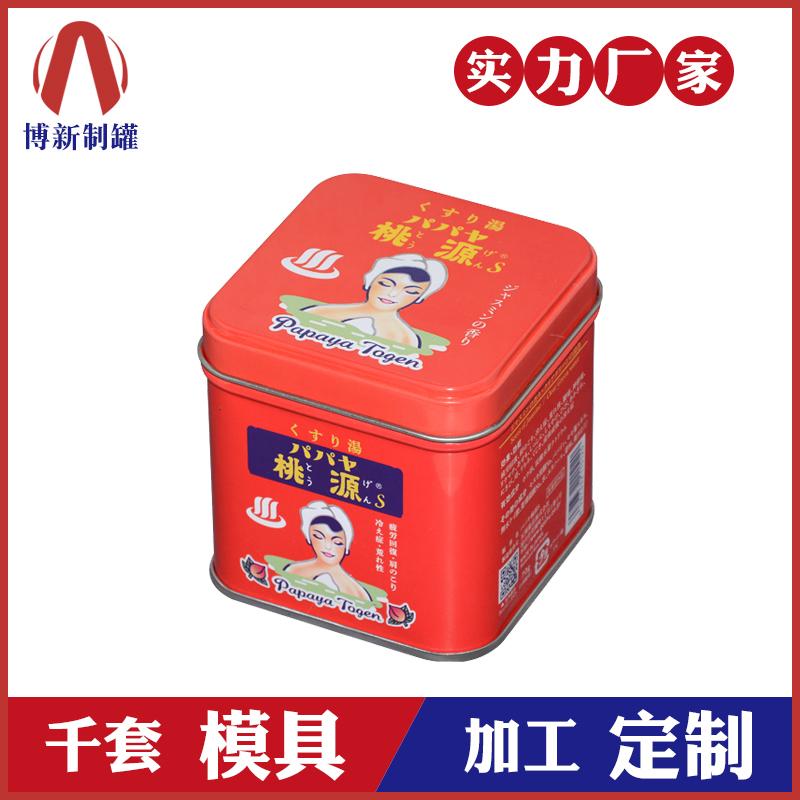 食品铁盒-正方形铁盒包装定制