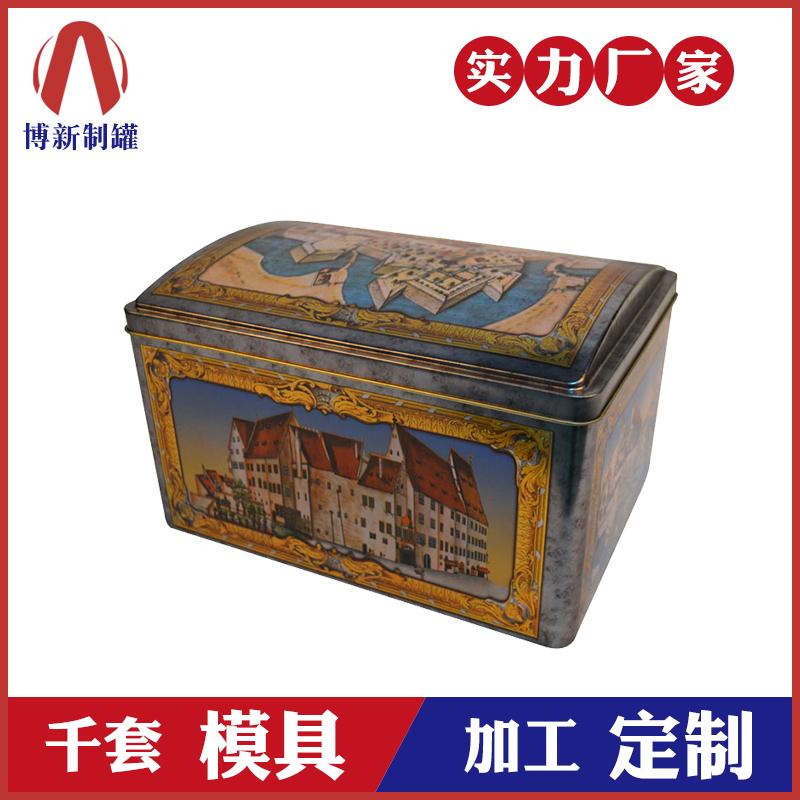 大号方形铁盒-复古储物铁罐