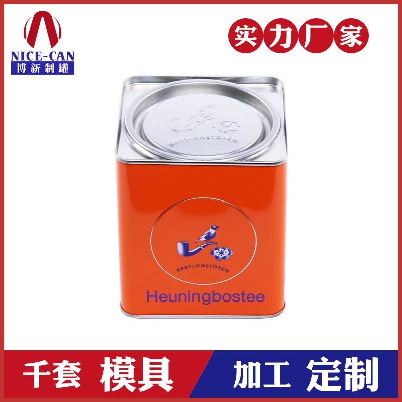 茶叶铁罐包装-方形马口铁茶叶盒
