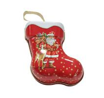 圣诞节糖果盒 礼品盒 马口铁罐铁盒定制 NC2839
