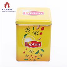 方形马口铁罐 铁盒 茶叶罐 NC2535