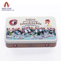 马口铁罐 铁盒 糖果盒 饼干盒巧克力盒定制 NC25009