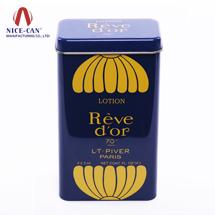 方形马口铁罐 铁盒 化妆品盒定制 NC2302