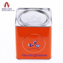 方形马口铁罐 铁盒 糖果盒 茶叶盒定制 NC2341