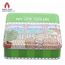 马口铁罐 铁盒 巧克力盒糖果盒 甜品盒定制 NC2494