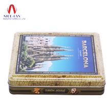 马口铁罐 铁盒 巧克力盒 礼品盒 糖果盒定制 NC2846A