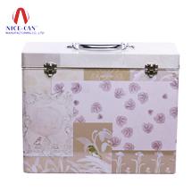 礼品盒 化妆品盒 手提化妆品铁盒 马口铁罐定制 NC2873