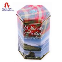 咖啡罐  糖果盒 食品通用包装 马口铁盒 六角罐定制 NC2881
