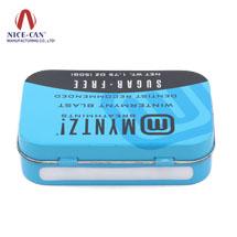 马口铁凉糖盒厂家定制|保健品铁盒包装|含片铁盒生产NC2025