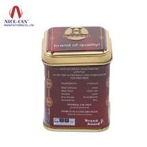 马口铁咖啡罐|方形食品铁罐|糖果铁罐 NC2036