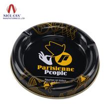 马口铁烟灰缸|圆形铁罐|金属烟灰盒 NC2040