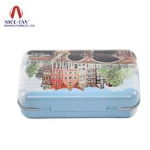 马口铁罐定制|化妆品盒包装|首饰盒定做 NC2255