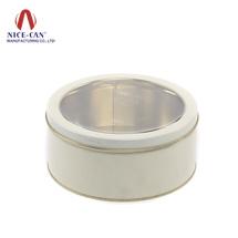 开窗化妆品盒|马口铁罐定制|厂家供应圆形铁罐 NC2267L