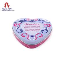喜糖铁盒定制|心形喜糖盒|马口铁糖果盒 NC2619