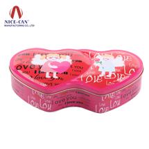 巧克力糖果盒|心形喜糖盒|马口铁糖果盒 NC2673