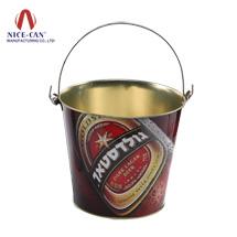 马口铁红酒冰桶定制|啤酒冰镇铁桶NC2365